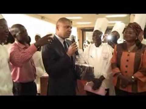 Le chocolat à l'honneur au concours national de pâtisserie à Abidjan