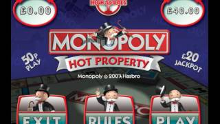 monopoly hot property - pc  test - quiz touchscreen game. www.arcadepunks.com 2017