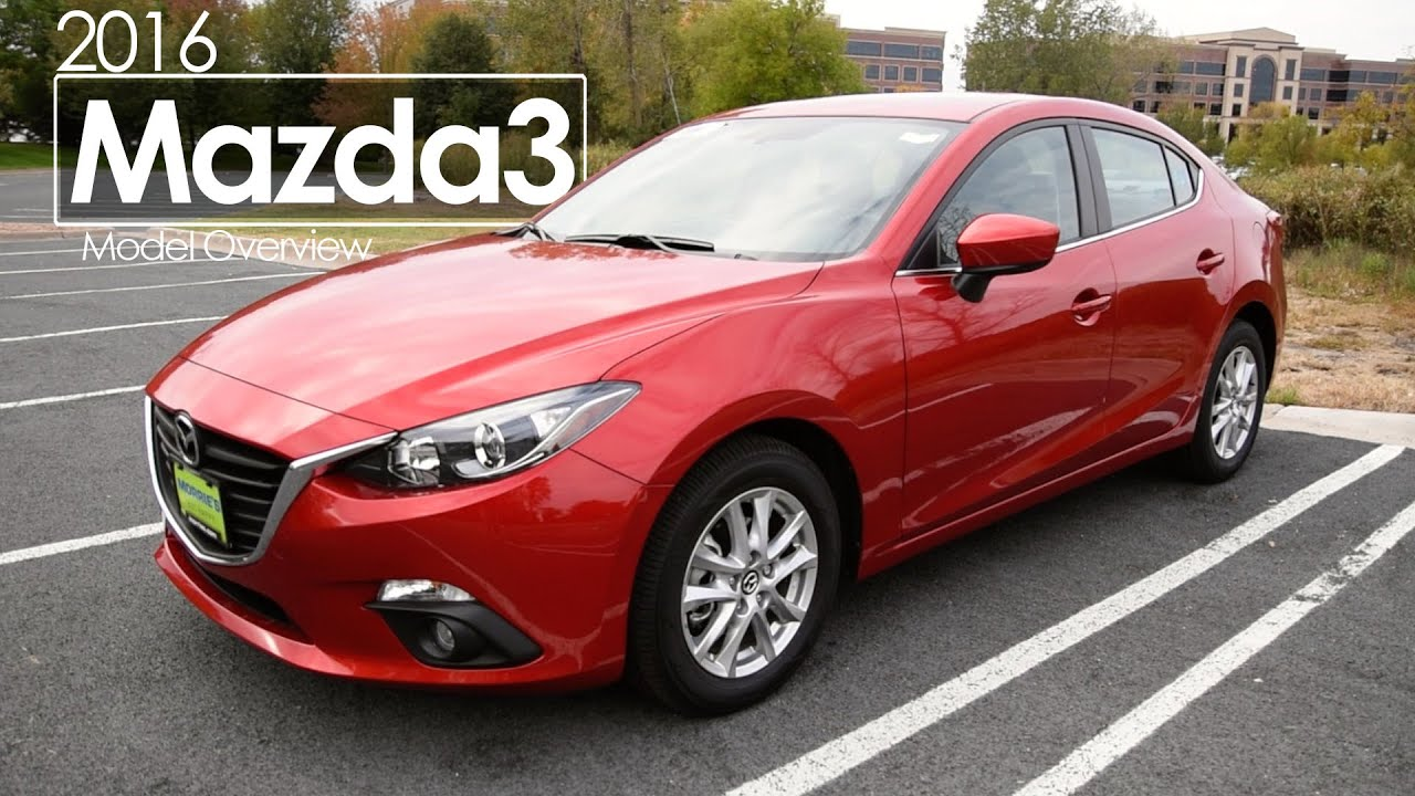 2016 Mazda3 Review Test Drive