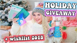 Huge Christmas GIVEAWAY! Holiday Gift Guide 2018