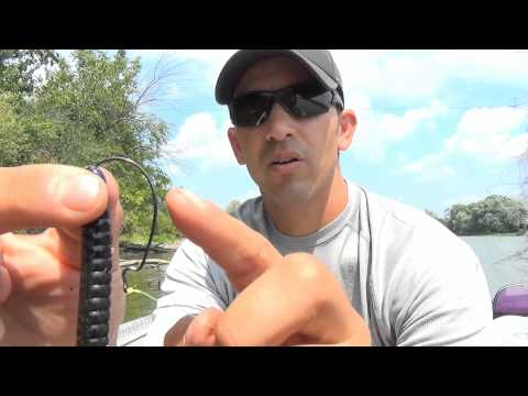 How to Set Up the Florida Rig with Soft Plastic Baits
