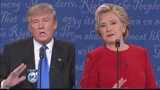 local democrats republicans sound off over first clinton vs trump presidential debate