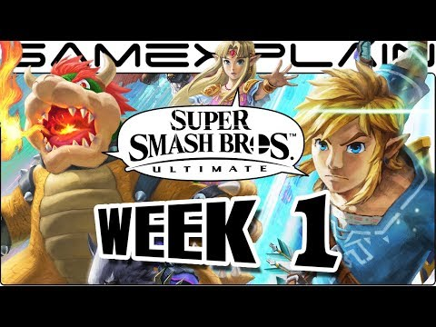 Super Smash Bros. Ultimate Update: WE'RE BACK BABY! Release Date, Squid Sisters, Newcomers! (Week 1)