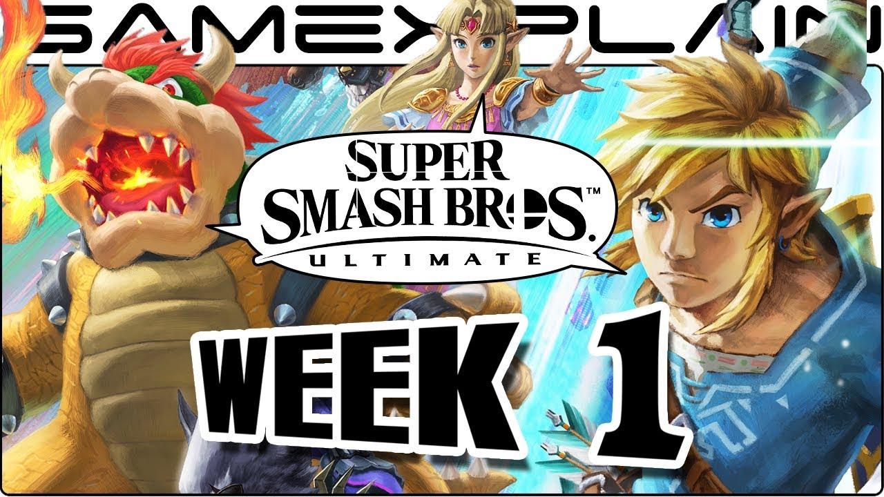 Super Smash Bros. Ultimate Update: WE'RE BACK BABY! Release Date, Squid Sisters, Newcomers! (Week 1)