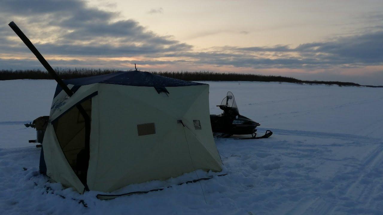 отличная рыбалка на крайнем севере Зимняя рыбалка