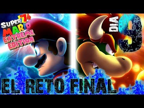 Super Mario 74 Extreme Edition 157 Estrellas Stars - Juego Completo - Full Game Walkthrough - DÍA 9