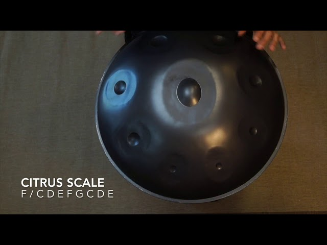 Soyuz Handpan F Citrus