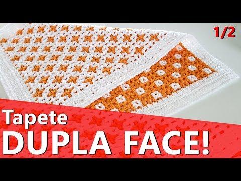 Tapete retangular dupla face  1/2 | Tapete para porta