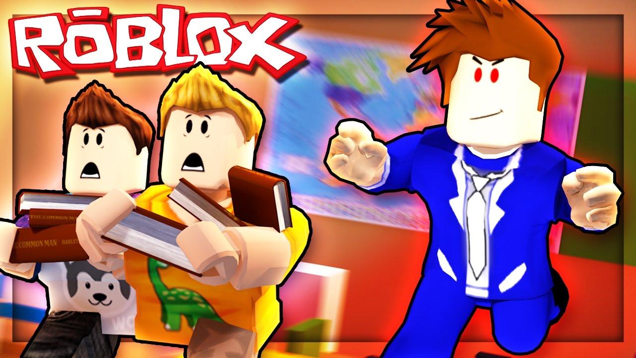Roblox Adventures Escaping An Evil School Escape The