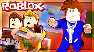 Roblox Adventures - ESCAPING AN EVIL SCHOOL! (Escape the Evil Teacher Obby)