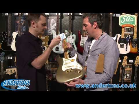 NAMM 2014 Fender 60th Anniversary Stratocasters