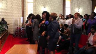 Grace Baptist Church -Rev Clinton McFarland Closing- Faith to Fight Giants
