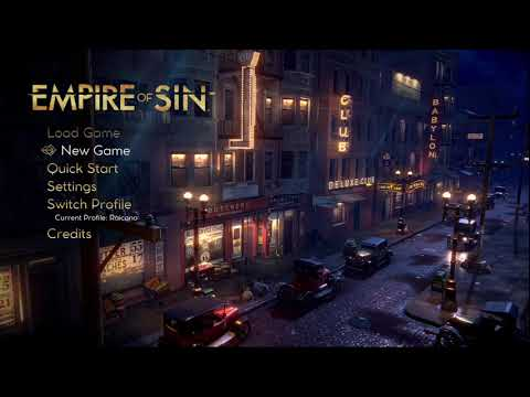 Empire of Sin: Family Selection |