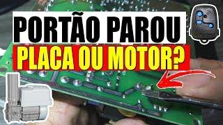 PORTÃO ELETRÔNICO PAROU DE FUNCIONAR VEJA ALGUMAS DICAS PARA ACHAR O PROBLEMA - Motor Peccinin P2000