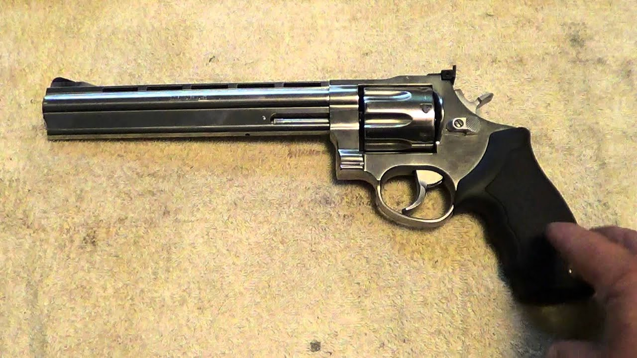 Image result for .357 magnum Taurus revolver with 9 inch barrel