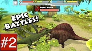 Jurassic World: Tyrannosaurus Rex Dinosaur Simulator - Part 2 iPHONE, iPAD,
