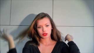 Ретро прическа, низкий пучок, своими руками, Hair tutorial Retro style, low bun