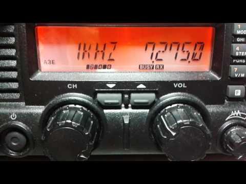 Radio China 7275 khz (Amateur Radio Band)