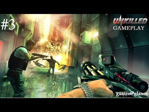 UNKILLED (Zombie FPS Shooter Game) android/iOS Gameplay Walkthrough #3