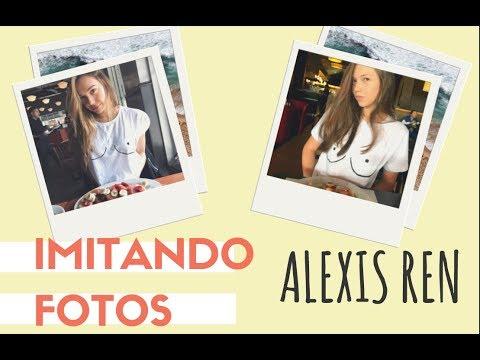 Imitando fotos de ALEXIS REN// Lina // LinaConNico