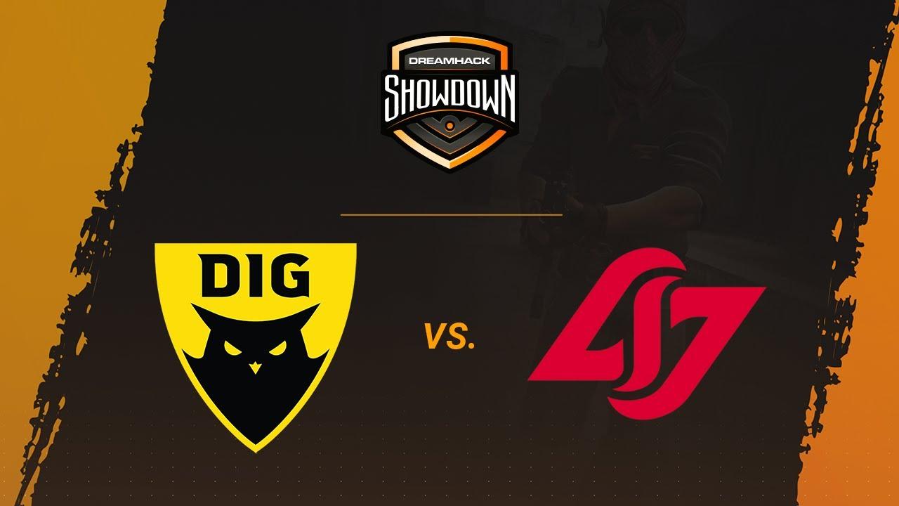 CLG Red vs Dignitas fe - Nuke - Grand Final - North America - DreamHack Showdown Summer