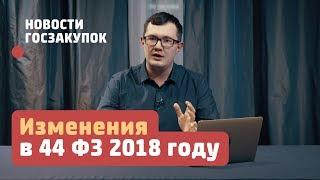 видео ГОСЗАКУПКИ по новым правилам