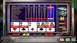Desert Nights Casino  Joker Poker 1 Hand Video Poker