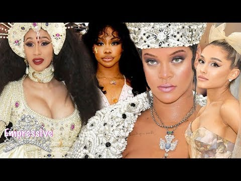 Best Dressed Met Gala (2018) | Rihanna, Ariana Grande, Cardi B, SZA, and more.