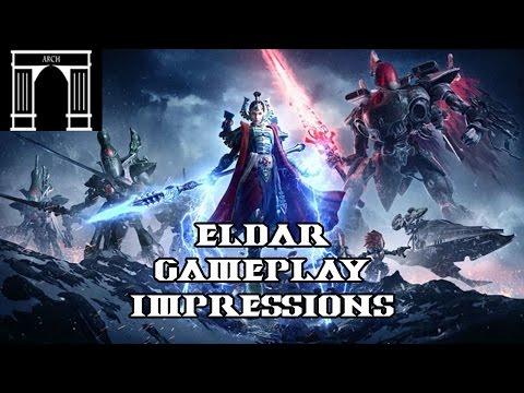 Dawn of War 3 Eldar Reveal Impressions and Information,