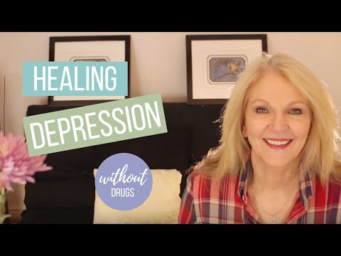 Healing Depression Without Drugs.   And Giveaway Results
