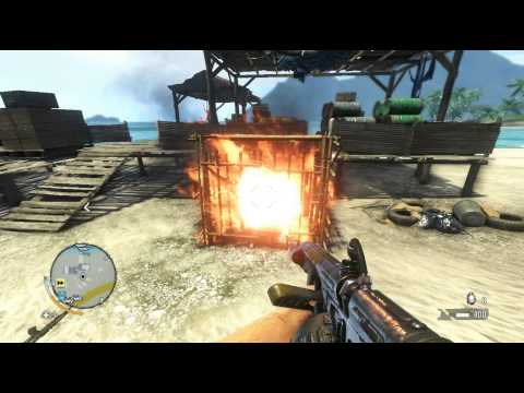Far Cry 3 - Flamethrower vs animal rights