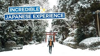 Most Unique & Incredible Japanese Experience | Japan Vlog