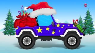 Navidad Jeep - Lavado de coches | Coche Para Niños | Navidad Vehículo | Christmas Jeep - Car Wash