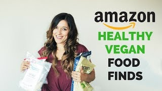 AMAZON HEALTHY FOOD FINDS | ep.1 | vegan & gluten free