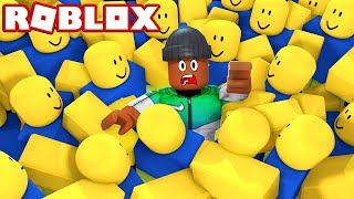 SURVIVE THE NOOB INVASION IN ROBLOX