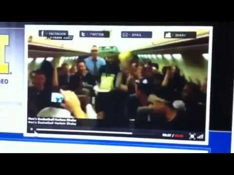 Michigan Wolverines Basketball Harlem Shake