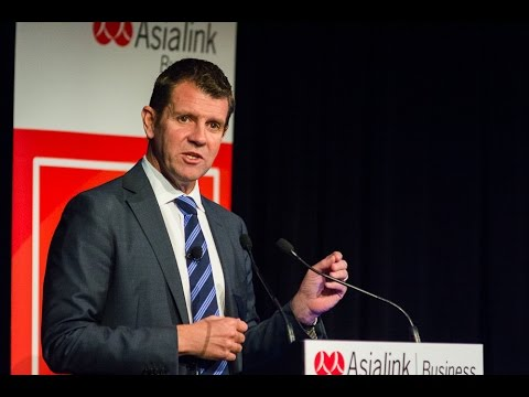 NSW Premier Mike Baird on Embracing Asia