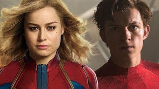 Why Spider-Man Will Be Teaming Up With Captain Marvel After Far From Home