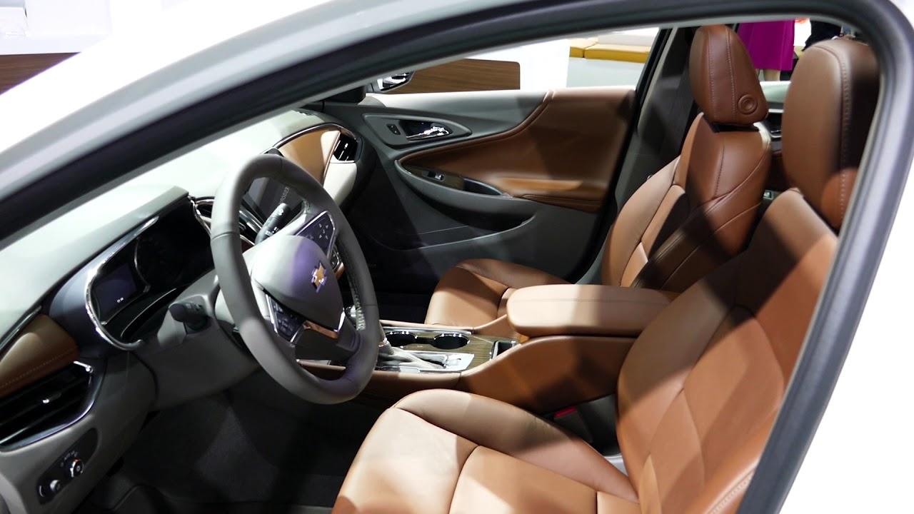 New 2018 Gm Chevrolet Malibu Sedan Interior Tour 2017 La Auto Show Los Angeles Ca