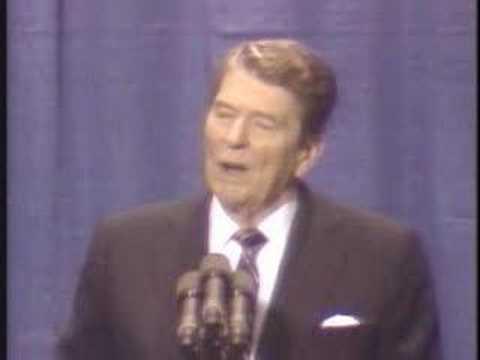 Reagan tells Soviet jokes