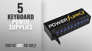 Top 10 Keyboard Power Supplies [2018]: Donner Dp-1 Guitar Pedal Power Supply 10 Isolated DC Output