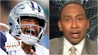 Stephen A.: The Cowboys are treating Dak Prescott like a running back | First Take