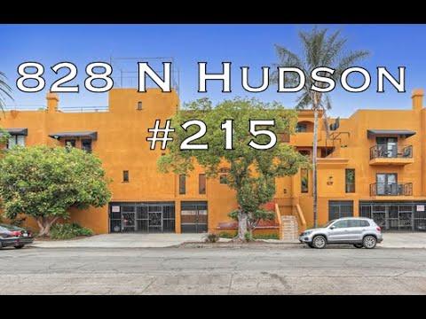 828 N Hudson #215, Los Angeles, CA 90038