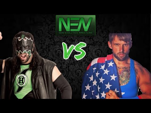 NEW Year Two - Former WWE Superstar Hurricane Helms vs The American Patriot