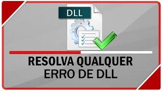 Como resolver qualquer erro de DLL