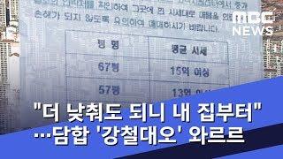 """""""값 더 낮춰도 되니 내 집부터""""…담합 '강철대오' 와르르, 왜? (2019.02.04/뉴스데스크/MBC)"""