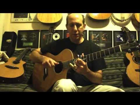 Slide Guitar Lesson - Open C - Richard Gilewitz