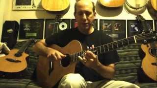 Slide Guitar Lesson - Open C - Richard Gilewitz