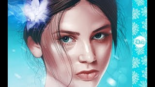 Slavic Girl - Photoshop Speed Art #Vexel Art