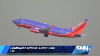 SNN: Southwest Airlines Ticket Sale